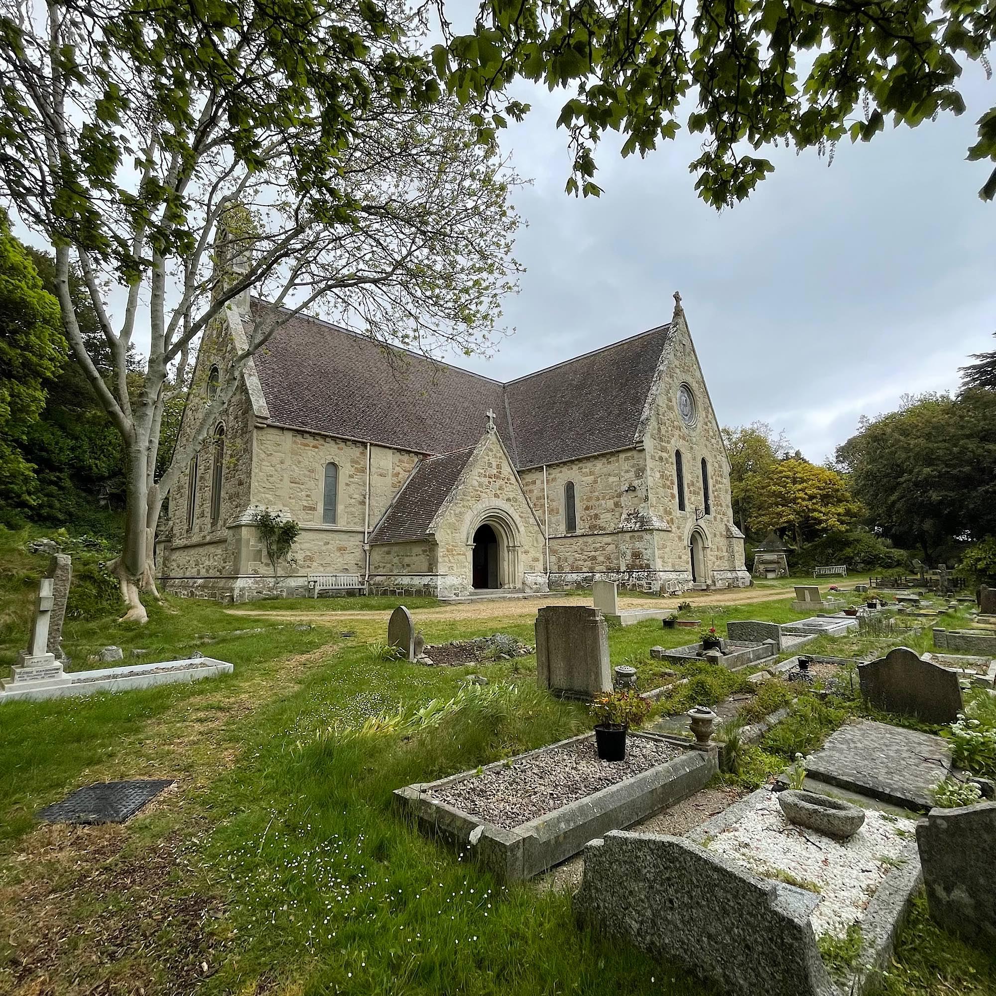 St Boniface church Ventnor exterior