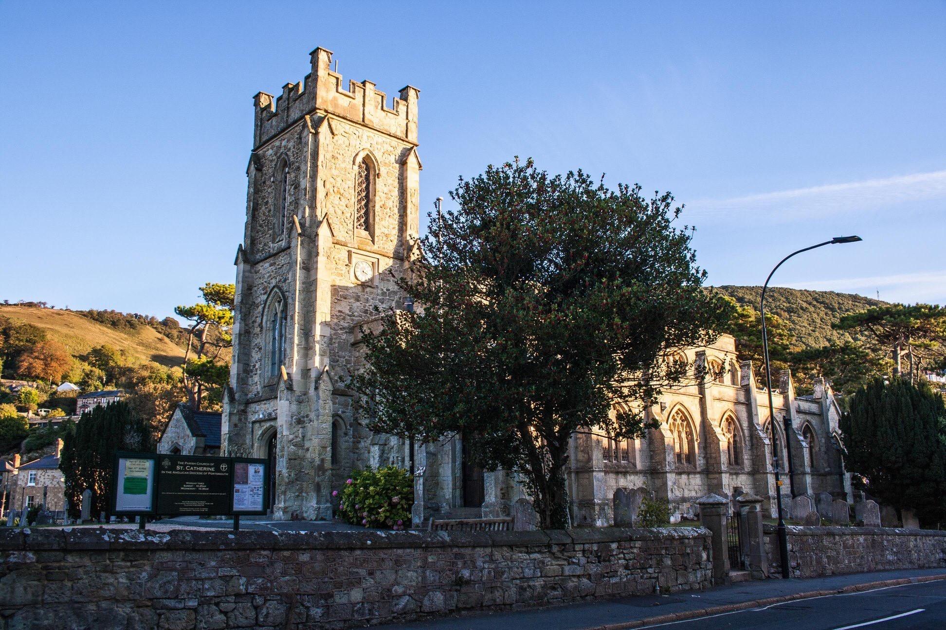 St Catherine's exterior